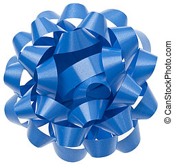 Vibrant Blue Gift Bow