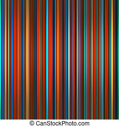 Vibrant colors graduated stripes abstract background.