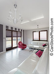 Vibrant cottage - living room - Vibrant cottage - interior ...