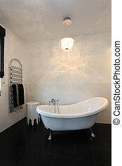 Vibrant cottage - Original bath - Vibrant cottage - Modern...