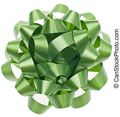 Vibrant Green Gift Bow
