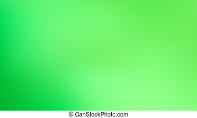 Vibrant Green Trendy Gradient Background. Defocused Soft Blurred Backdrop
