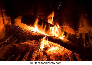 Vibrant home Fire.
