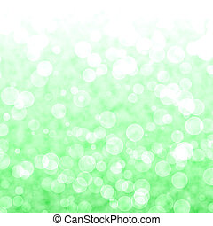 vibrant, lichten, bokeh, groene achtergrond, blurry