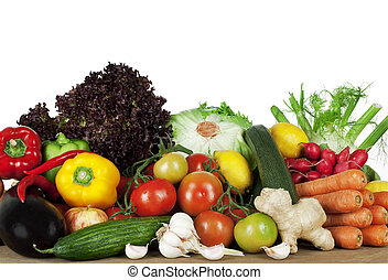 Vibrant Produce - Healthy Eating- summer seasonal organic...