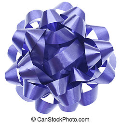 Vibrant Purple Gift Bow