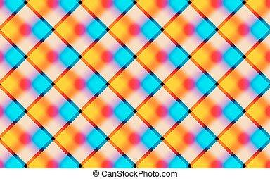 vibrant, résumé, carrés, fond