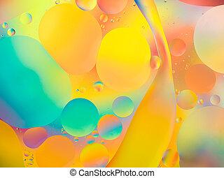 vibrant, résumé, couleurs, fond