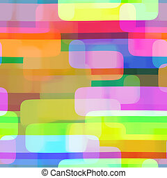 Vibrant Rectangle Repeating Textile Pattern