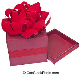 Vibrant Red Holiday Gift