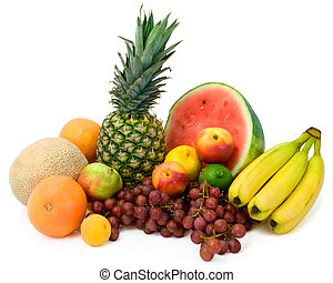 Vibrant Tropical Fruits