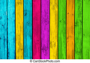 Vibrant Wood Background