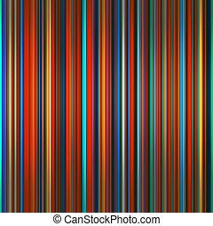 vibrante, abstratos, listras, experiência., cores, graduado