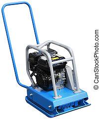 Vibration Plate Compactor Cutout - Vibrating Compactor...