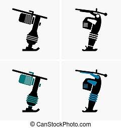 vibratory, compactors, prato