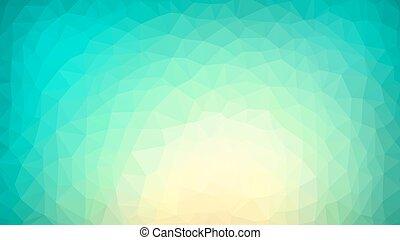 vibrerande, polygonal, bakgrund