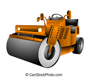 Vibro Roller with Clipping Path