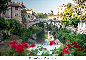 Vicenza is a city in northeastern Italy, in the Veneto region