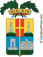 Vicenza prov coa - Various vector flags, state symbols, ...