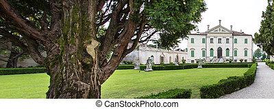 Vicenza, Veneto, Italy - Villa Cordellina Lombardi, built in...