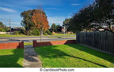 vicinato residenziale