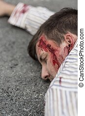 Victim of terrorist attack