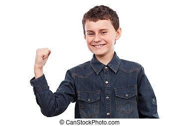 victoire, enfant