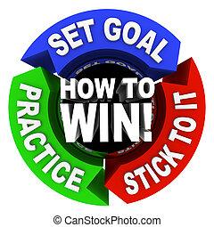 victoria, consejo, -, flechas, cómo, 3