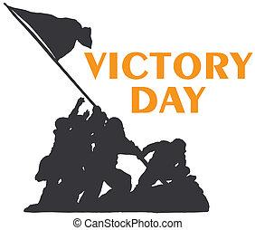 victoria, día