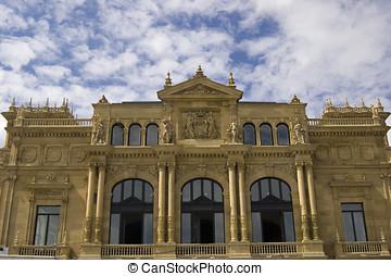 Victoria Eugenia Theatre in San Sebastian. Spain - Victoria...