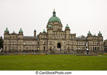 Victoria Government Building - A massive ornate government ...