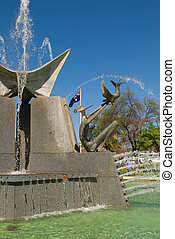 Victoria Square Fountain - Fountain in Victoria Square, ...