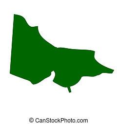 Victoria State Australia - Map of Victoria state in ...