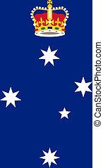 Victoria state badge - Illustration of Australia state of ...
