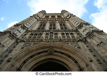 Victoria Tower, palace of Westminster, London