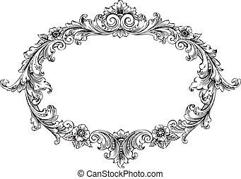 victoriaans, frame