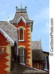 victorian épület