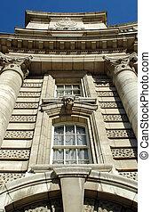 victorian architecture - historic naval headquaters...