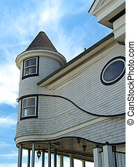 Victorian Beach Home - Partial View of old Victorian house...