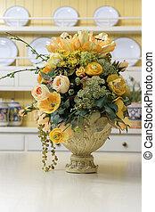 Victorian bouquet in a vase
