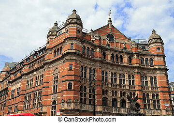 Victorian building in London