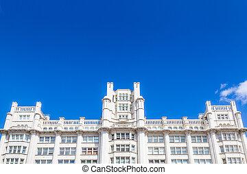 Victorian building, Liverpool, UK