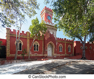 Fort Christian in Charlotte Amalie St Thomas - Victorian...