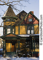 Victorian House Chicago suburbs.