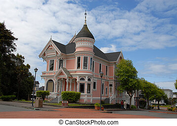 Victorian house, Eureka, California