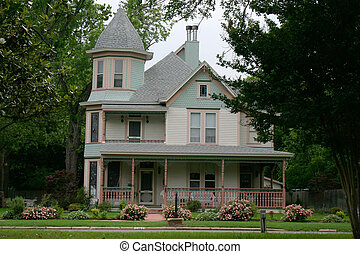 Victorian House - Extremely ornate and colorful restored ...
