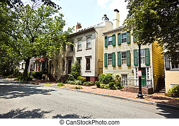 victorian house in Georgetown