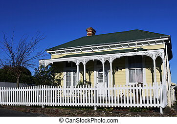 Victorian house New Zealand - Victorian house in Auckland,...