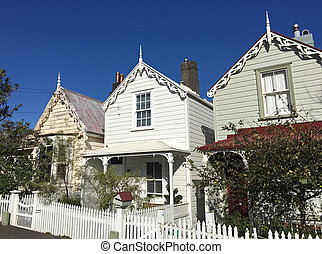 Victorian houses in Auckland New Zealand