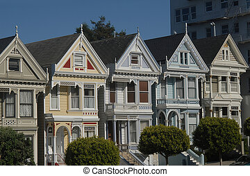 Victorian houses - Famous seven victorian houses called...
